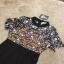 Lace Dress Long dress ลูกไม้ช่วงตัวบน thumbnail 4
