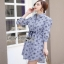 Lady Ribbon Cotton Shirt Dress เชิ้ตเดรส thumbnail 2
