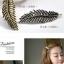 w1381 - Hair Accessories,ที่คาดผม,เครื่องประดับผม,กิ๊ปติดผม,เครื่องประดับ feather starfish hairpin thumbnail 3