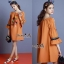 Normal Ally Present Korea rope pin style dress&#x1F389 (เดรส, แต่งเชือกตุ้มเม้งสลับสี) thumbnail 2