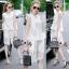 Lady Ribbon Online เสื้อผ้าออนไลน์ขายส่ง Normal Ally เสื้อผ้า NA08180816 &#x1F389Normal Ally Present Lace white princess summer set&#x1F389 thumbnail 1