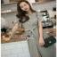 Lady Ribbon Striped T-Dress เดรสแขนสั้นลายทาง thumbnail 2