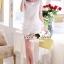 SS12010916 Seoul Secret Say's... Girly Ivory Lace Set Material : เซ็ทหวานๆ สวยๆ thumbnail 4