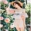 Lady Ribbon Pink Off-Shoulder Top and Shorts thumbnail 2