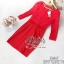 2Sister Made, Red Lovely Vintage Sparkling Dress thumbnail 5