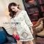White Crepe Lady Ribbon Mini Dress มินิเดรสผ้าเครป thumbnail 3