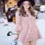 เสื้อผ้าเกาหลีสีชมพู Pink thumbnail 3