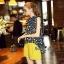 Lady Ribbon Online เสื้อผ้าออนไลน์ขายส่ง Normal Ally เสื้อผ้า,NA16220816 &#x1F389Normal Ally Present Tulip print shirt and pant with belt set&#x1F389 (เสื้อ + กางเกง + เข็มขัด) thumbnail 5