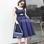 Lady Ribbon Rosie Sexy Blue Dress เดรสสีน้ำเงินสด thumbnail 4