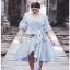 Cotton Dress Lady Ribbon เดรสผ้าลายทาง thumbnail 3