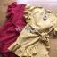 Dress Lady Ribbon ขายเดรสแดงผ้าลินิน thumbnail 7