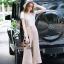 Lady Ribbon Online เสื้อผ้าออนไลน์ขายส่ง Normal Ally เสื้อผ้า,NA07220816 &#x1F389Normal Ally Present Boutique Bib overalls classic and T-Shirt set&#x1F389 (เสื้อยืด + เอี้ยม ,มีซับใน) thumbnail 4