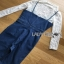 Lady Ribbon Miranda Lace and Denim Jumpsuit thumbnail 9