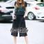 Lady Ribbon Online เสื้อผ้าออนไลน์ขายส่ง Normal Ally เสื้อผ้า NA08150816 &#x1F389Normal Ally Present embroider flower shirt and lace pant set&#x1F389 (เสื้อแต่งลูกไม้ทอปัก+ กางเกงลูกไม้มีซับใน) thumbnail 2