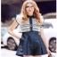Lady Ribbon Lace and Silk Playsuit เพลย์สูทขาสั้น thumbnail 1