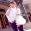 Lady Ribbon Isabella Flared-Sleeve Ribbon Lace Blouse thumbnail 2