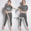 Lady Ribbon Online ขายส่ง เสื้อผ้าออนไลน์ ของแท้ ราคาถูกพร้อมส่ง เลดี้ริบบอน LR02140716 &#x1F380 Lady Ribbon's Made &#x1F380 Lady Clara Polka Dot Zip-Up Jacket and Pants Set สำเนา thumbnail 2