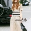 Lady Ribbon Online เสื้อผ้าออนไลน์ขายส่ง Normal Ally เสื้อผ้า,NA08220816 &#x1F389Normal Ally Present new collection boutique pendulum striped linen shirt wide leg pants set&#x1F389 (เสื้อ + กางเกง) thumbnail 5