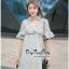 VP02310816 Luxury Floral Embroidery MINI Dress มินิเดรสสไตล์เกาหลี น่ารักมากค่ะ thumbnail 4
