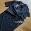 Lady Mandy Smart Minimal Drape Ribbon Black Dress ขายส่งเดรสผ้าเครป thumbnail 7