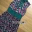 Lady Ribbon Online ขายส่งเสื้อผ้าออนไลน์ Lady Ribbon พร้อมส่ง LR17040816 &#x1F380 Lady Ribbon's Made &#x1F380 Lady Taylor Red-Green Graphic Printed Sleeveless Maxi Dress thumbnail 5