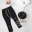 ST18310716 &#x1F340สินค้าพร้อมส่ง&#x1F340 한국에 의해 설계된 2sister made , Lovely White & Black Lady Set With Gimmic Fancy thumbnail 6