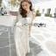 Lady Ribbon Crochet Maxi Dress thumbnail 4