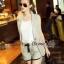 Lady Ribbon Online เสื้อผ้าออนไลน์ขายส่ง Normal Ally เสื้อผ้า,NA09220816 &#x1F389Normal Ally Present Casual cotton linen Blazer and short set&#x1F389 (Blazer + กางเกง , มีซับในอย่างดี) thumbnail 4