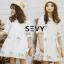 เสื้อผ้าคอกลม แฟชั่นเกาหลีแขนตุ๊กตา thumbnail 6