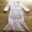 Lady Ribbon Baby Pink Crepe Dress thumbnail 9