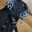 Leather Belt Lady Ribbon ขายเดรสผ้าเครปสีดำ thumbnail 5