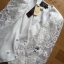 Double-Breast White Lace Jacket แจ๊คเก็ตสูทกระดุมสองแถวตกแต่งผ้าลูกไม้ thumbnail 5