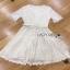 Lady Ribbon Nasha Sweet Classic White Lace Dress with Belt thumbnail 7