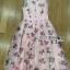 Lady Ribbon Roses Lace ขายเดรสผ้าลูกไม้สีชมพูพาสเทล thumbnail 6