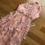 Tulle Peach Cocktail Dress Lady Ribbon เดรสผ้าทูลเล thumbnail 5