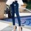 กางเกงยีนส์แฟชั่นแต่งรอยขาด แบรนด์เกาหลี Daisy thumbnail 11