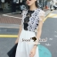SS18010916 Seoul Secret Say's... Pleaty Layer Chic Jumpsuit Material : ทรงสวยดูไฮด้วยทรงจั้มสูทกางเกงขายาว thumbnail 5