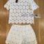 Lady Ribbon Online ขายส่งเสื้อผ้าออนไลน์ ขายส่งของแท้พร้อมส่ง Lady Ribbon LR16250716 &#x1F380 Lady Ribbon's Made &#x1F380 Lady Patricia Pretty Cute Daisy Embroidered Set thumbnail 6