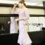 Lady Ribbon Baby Pink Crepe Dress thumbnail 2