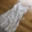 Lace Cocktail Dress Lady Ribbon ค็อกเทลเดรสผ้าลูกไม้ thumbnail 6