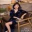 Lovely Beauty Dress เดรสสั้นแฟชั่น เนื้อผ้าเกาหลีกำมะหยี่ thumbnail 3