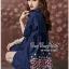 Lady Ribbon Online ขายส่งเสื้อผ้าออนไลน์ Very very pretty VP06030816 Smart Chic Embroidery Cotton shirt Dress thumbnail 5
