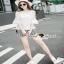 เสื้อผ้าแฟชั่นเกาหลีเซ็ทหวานๆ แบบสาวชิลล์ เสื้อเนื้อผ้าสวย thumbnail 4