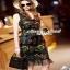 เสื้อผ้าแฟชั่นเกาหลีเดรสลุคสาวไฮ งานสวยด้วยงานปักแต่งลาย thumbnail 1