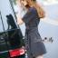 Lady Ribbon Online เสื้อผ้าออนไลน์ขายส่ง Normal Ally เสื้อผ้า,NA13220816 &#x1F389Normal Ally Present Boutique new autumn collection dress and Dimond and pearl brooch&#x1F389 (เดรส + เข็มกลัดเพชรเกสรไข่มุก, มีซับในอย่างดี, มีเชือกเข็มขัด) thumbnail 2