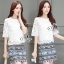 Sevy Two Pieces Of Lace Blouse With Northern Skirt Sets Type: Blouse+Skirt thumbnail 3