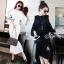 Lady Ribbon ออนไลน์ เสื้อผ้าออนไลน์ พร้อมส่งของแท้ SV03130716 &#x1F389Sevy Two Pieces Of Hollow Knit Blouse With Skirt Sets thumbnail 4