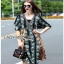 Lady Ribbon Florence Bohemian Chic Floral Printed Maxi Dress thumbnail 3