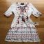 Chic Colorful Embroidered Cotton Lady Ribbon Dress thumbnail 8