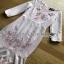 Lady Ribbon Baby Pink Crepe Dress thumbnail 6